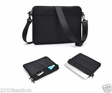 "Shoulder Messenger Sleeve Bag Pouch Case Cover for 8.9""  9.7"" 11"" Smart Tablet-K"
