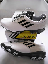 NEW Adidas Adizero Tour Golf Shoes, PICK A SIZE, White/Black/Dark Silver, $180