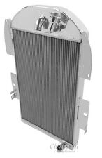 1934-1936 Chevy Pickup V6 Engine with No Trans Champion 3 Row Core Alum Radiator