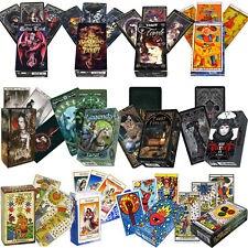 TAROT CARDS DECK - ALCHEMY, ANNE STOKES, FAVOLE, I CHING, LABYRINTH FOURNIER NEW
