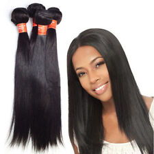 3 bundles Unprocessed 5A Indian Silky Straight/ Body weave Human Hair Extension