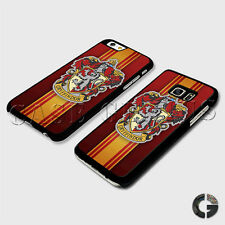 Gryffindor House Fire Red Gold Lion Hogwarts Harry Potter Hard Phone Case Cover
