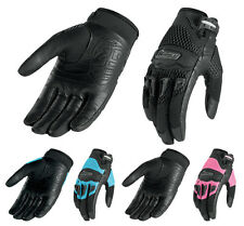 *Fast Shipping* Womens Icon Twenty-Niner Motorcycle Gloves 29 29er