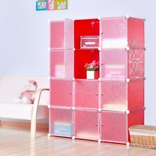Organizer Storager for Clothes, Shoes, Bags, Office (12 cubes) Cubitbox