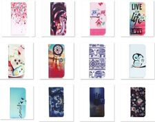 Fashion Flip PU Leather Wallet Card Holde Stand Case Cover For Various Phones