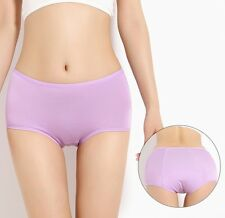 Women Ladies Menstrual Period Physiological Pants Panties Brief Sz M~3XL 3e059