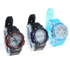 Multi-Function 50M Waterproof Digital LCD Day Alarm Sports Rubber Wrist Watch