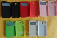 5-color Wake View Smart Cover Flip Leather Case for Samsung Galaxy S4 IV I9500