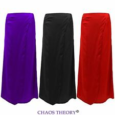 New Womens Wrap Around Skirt Ladies Summer Gypsy Split Long Maxi Skirt