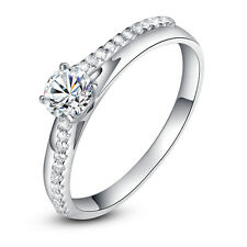 """ViVi """"H & A """" Signity Star Lab-created Diamond Ring 8495a Birthday Gift for Her"""