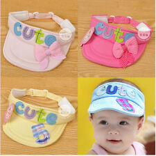 Newborn Baby Boys Girls Baseball Cap Summer Empty Head Hats Top Sun Hat 0-6month