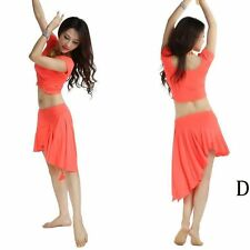 New 2014 Cheap Belly Dancing Costume Outfit Dancwear 2pcs Top&Skirt MUST HAVE