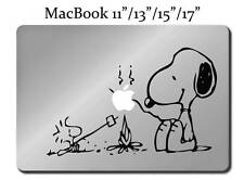 SNOOPY & WOODSTOCK BARBECUE Decal LAPTOP / MACBOOK Mac Pro Air Sticker Apple M53