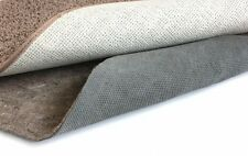 """DURABLE HOLD Non Slip Reversible Rug Pad - Multiple ROUND SIZES - 1/4"""" Thick"""