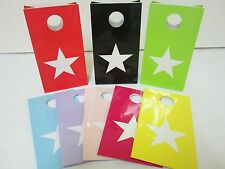 12x STAR Lolly Candy BAGS box  Party Favours Loot Lolly Party Bag - Candy Buffet