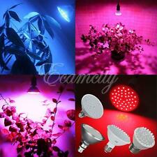 E27 Red Blue 38LED-168LED SMD Grow Light Panel Hydroponic Plant Lamp Bulb Indoor
