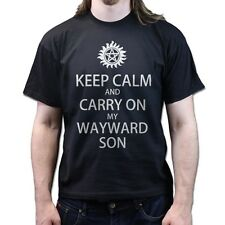 Keep Calm and Carry On My Wayward Son Rock Kansas T-shirt