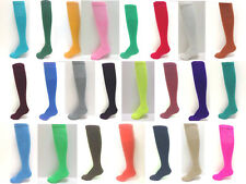 Solid Sport Tube Socks - Baseball, Softball, Football, Soccer, Volleyball