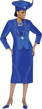 NWT 7400 TERRAMINA SKIRT SUIT WITH DICKIE ON SALE