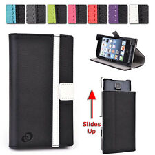 A Kroo Unisex Transforming Universal Stand Folio Flip Case for Mobile Cell