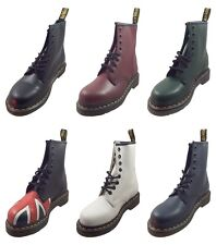 Dr Doc Martens 1460 Unisex Classic Smooth Leather 8 Eye Up Boots