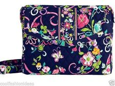 Vera Bradley TABLET HIPSTER Heather Ribbons Venetian Paisley Crossbody Purse NWT