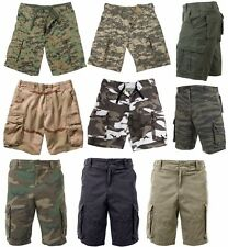 Cargo Military Shorts Vintage Solid And Camo Paratrooper  Rothco