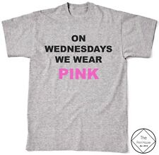 On Wednesdays We Wear Pink Shirt Top Women Men Quote Hipster Tumblr