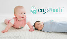 ergoPouch 0.2 TOG ergoCocoon swaddle sleeping bag, 0-3m and 3-12m