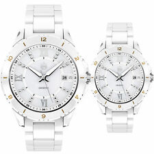 I Love You Always CERAMIC WATCH SAPPHIRE CRYSTAL STAINLESS STEAL CASE UNISEX BOX