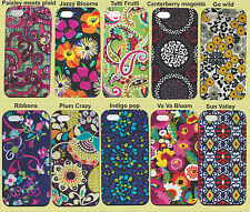 NIB Vera Bradley hard case Hardshell Cover for Apple iPhone 5/5S