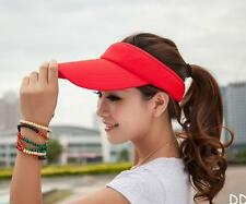 DI US Unisex Men Women Sun Visor Adjustable Sports Tennis Golf Headband Cap