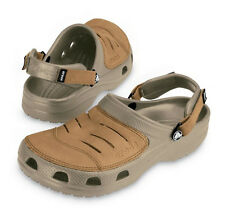Crocs - Crocs Yukon Leather Shoes - Khaki