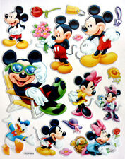 Cute Disney Mickey Minnie Mouse Baby Kids Nurse​​ry 3D Decor Stickers New