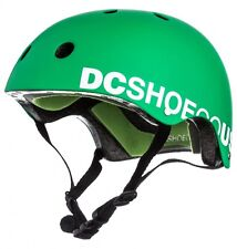 DC ASKEY KIDS Skate Freestyle Scooter Rollerblade BMX Cycle HELMET GREEN RRP £30