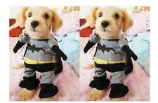 Pet Dog Cat High Quality Batman Costume Clothes Clothing with Cape