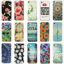 Painted Various Flower Phone Hard Back Case Cover Skin For iPhone 4S 5S 5C 6