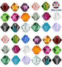 48pcs Swarovski Crystal Elements Beads 5328 Xilion Bicone 3mm -Choose the colour