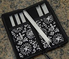"ChiaoGoo DPN Sock Set Stainless Steel 6"" Double Point Needles with Case MPN 6600"