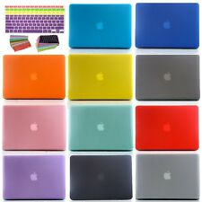 "Rubberized Hard Case Cover+Keyboard Cover For MacBook Air/PRO/Retina 11"" 13"" 15"""