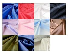 "Waterproof 2oz nylon material 67"" wide PU coated fabric from 13 colours -5mts"