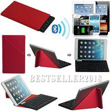 "7"" Bluetooth Keyboard W/ Red Magnetic Case For 7 7.9 8"" Android Win8 8.1 Tablet"