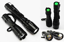 CREE XM-L T6 LED High Power 5 Mode Zoomable Zoom Flashlight Torch 2200LM 2600LM