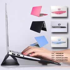 LSS Leather case skin cover For Apple macbook Air 11 13 15 Pro Retina A1502 1398