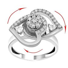 SAME DAY SHIPPING Twin heart DANCING RING Teufel motion spinning VERY FREELY