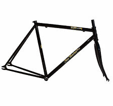 Blue Murder - Steamhammer Fixie Frame & Fork BLACK (Fixed Bicycle/Bike) - SALE