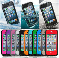 Fashion Waterproof Shockproof Dirt Protective Cases Covers for iPhone 5 5S Skins