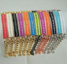 2014 New Arrival! Marc by M Jacobs Glaze Iron card Bracelet 12 Colors #B338X