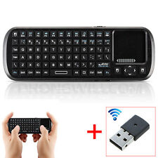 Wireless Remote Keyboard With TouchPad Mouse For PANASONIC SMART TV Supported