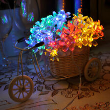 4M 40LED Blossom Fairy String Lights For Garden Party Christmas Home Decoration